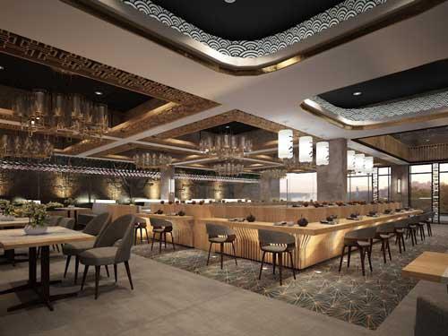 Capital Bali Hotel Gin Sushi