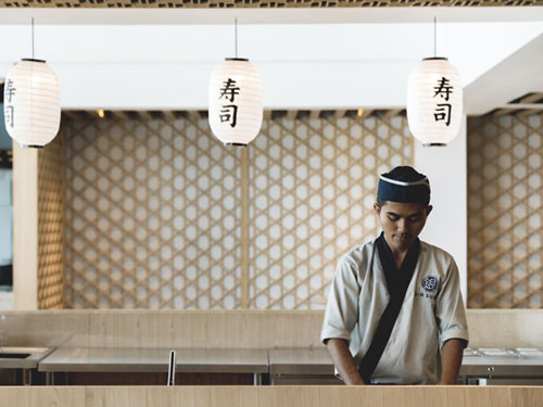 Capital Hotel Bali Gin Sushi